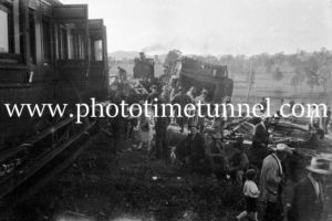 Murulla train smash, NSW, September 13, 1926 (4)
