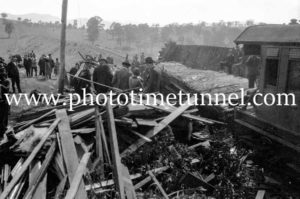 Murulla train smash, NSW, September 13, 1926 (8)