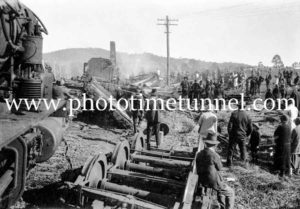Murulla train smash, NSW, September 13, 1926 (9)