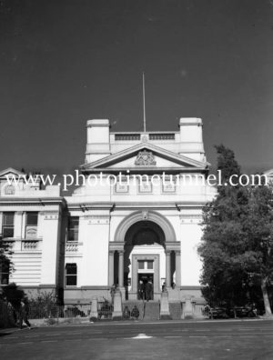 Newcastle Courthouse, Church Street, Newcastle, June 24, 1947. (2)
