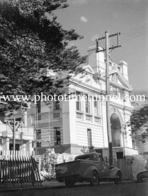 Newcastle Courthouse, Church Street, Newcastle, June 24, 1947. (3)
