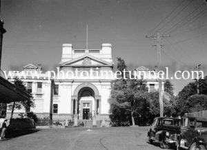 Newcastle Courthouse, Church Street, Newcastle, June 24, 1947. (5)