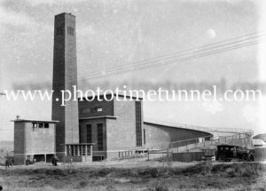 Incinerator in Parry Street, Newcastle, NSW, August 12, 1938.