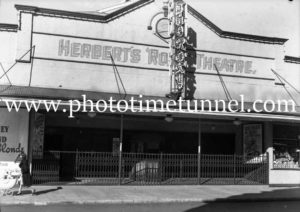 Herbert's Roxy Theatre, Hamilton (Newcastle), NSW, July 29, 1941.