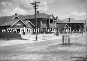 Parkway Avenue, Newcastle, NSW, October 1935.