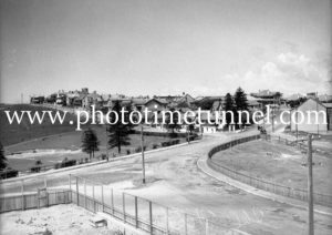 General view of part of The Hill, Newcastle, NSW, including King Edward Park, October 1935.