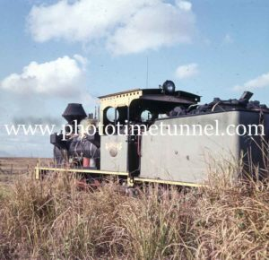 "Locomotive ""Sydney"" on the canefields, Queensland, circa 1960s"