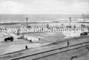 Merewether Baths, July 25, 1937