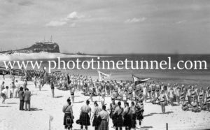 Surf Carnival at Nobbys Beach, Newcastle, NSW, December 7, 1936 (4)