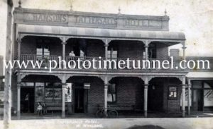 Hanson's Tattersalls Hotel, West Wyalong, NSW, circa 1930s