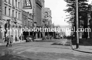 Hunter Street East, Newcastle, NSW, circa 1940s