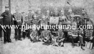 Band of the 4th Regiment, Newcastle, NSW, 1887