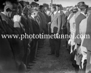 Prince Henry, Duke of Gloucester, visiting Maitland, NSW, 1934