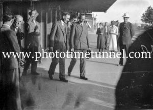 Prince Henry, Duke of Gloucester, visiting Singleton, NSW, 1934