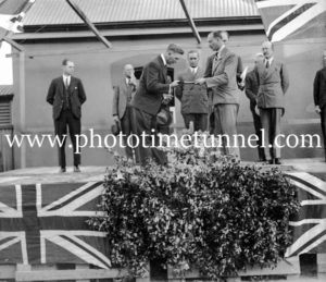 Prince Henry, Duke of Gloucester, visiting Uralla, NSW, 1934