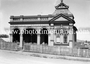 Old Adamstown (NSW) council chambers, December 30, 1935.