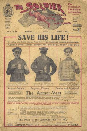 The Soldier, returned servicemens' journal, August 1917. PDF download
