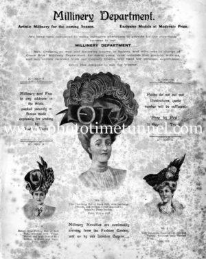Winn's drapery store catalogue, 1907. Newcastle, NSW. PDF download