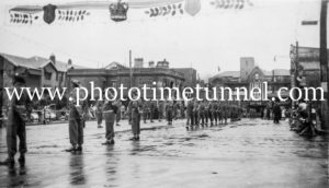 Military guard for the visit of Queen Elizabeth II to Newcastle, NSW, 1954 (1)