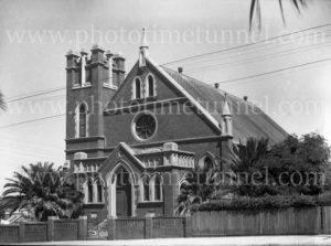 Adamstown Methodist Church, Newcastle, NSW, 1945.