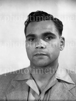 Boxer Dave Sands, November 26, 1947. (7)