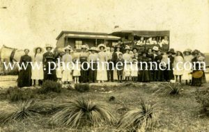 Newton family wedding: Minmi to Wallsend, NSW. Circa 1894.