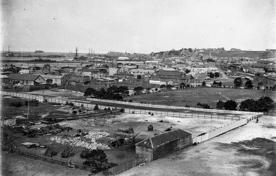 Newcastle 360 degree panorama, circa 1912