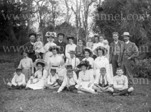 Portrait of a rural group, NSW, circa 1910.
