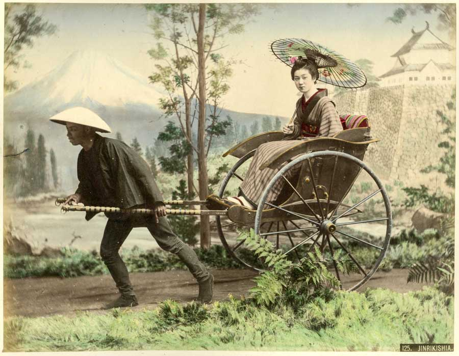 Beautiful vintage Japanese photographs by Kusakabe Kimbei