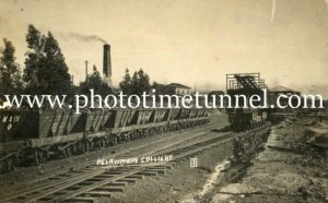 Pelaw Main colliery, Hunter Valley, NSW, circa 1910