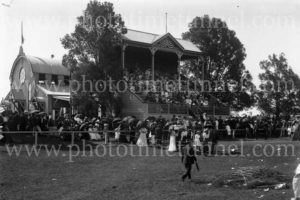 Grafton Showground pavilion, NSW, circa 1910