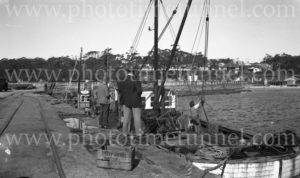 Fishing boat at Ulladulla, NSW, circa 1940.