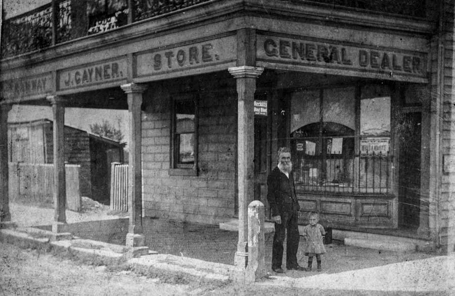 James Gayner of Hamilton: coalminer, storekeeper and newsagent