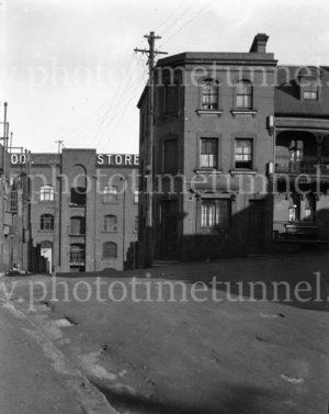 Merriman Street, Millers Point, Sydney, circa 1940s.