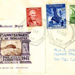 Mistaken identity on Newcastle's anniversary stamp