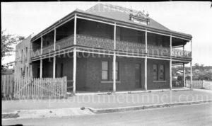 Paragon Hotel, Helensburgh, NSW, circa 1940.