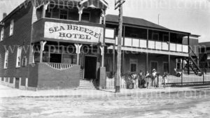 Sea Breeze Hotel, Nelson Bay, NSW, circa 1930s.