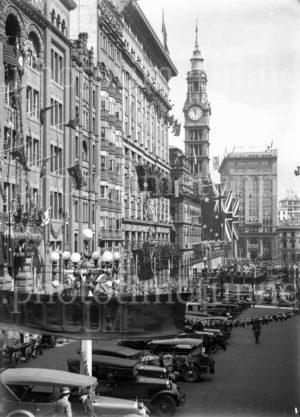 Decorations in Sydney for the visit of Edward, Prince of Wales, 1920. (28)