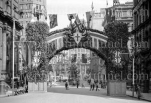 Decorations in Sydney for the visit of Edward, Prince of Wales, 1920. (1)