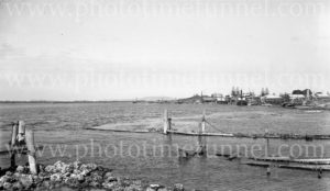 Tuncurry waterfront, NSW, circa 1930s.