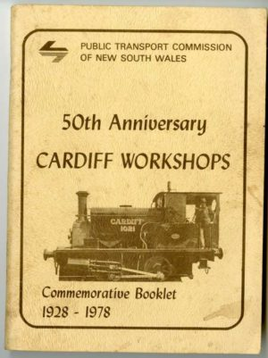 Cardiff Railway Workshops 50th anniversary commemorative booklet. Secondhand book.
