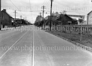View of Darby Street, Cooks Hill (Newcastle, NSW), April 3, 1938.