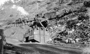 Rail smash at Ardglen, NSW, July 9, 1926