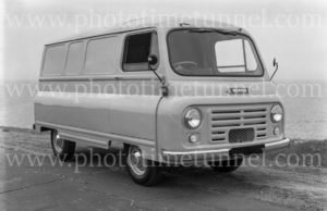 Morris van, Newcastle NSW, 1960s.