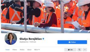 Premier Gladys and her blind eye