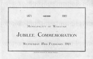 Municipality of Waratah Jubilee Commemoration booklet 1871 – 1921. PDF download
