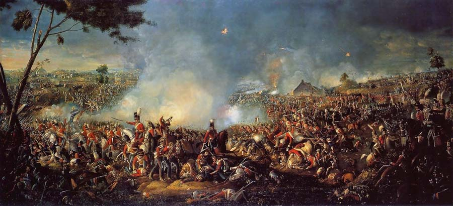 Waterloo, the day after the battle