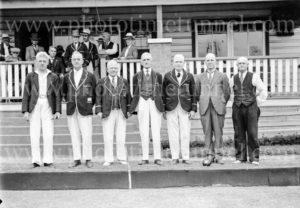 Opening of Waratah Bowls Pavilion, November 9, 1935. (1)
