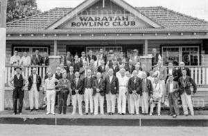 Opening of Waratah Bowls Pavilion, November 9, 1935. (2)