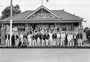 Opening of Waratah Bowls Pavilion, November 9, 1935. (3)